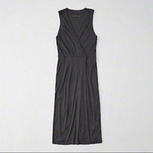 Abercrombie and Fitch wrap midi dress